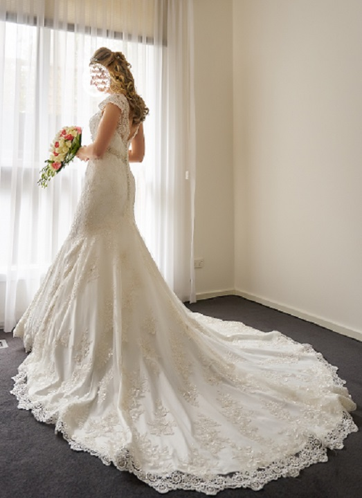 Allure Couture Crystal wedding dress