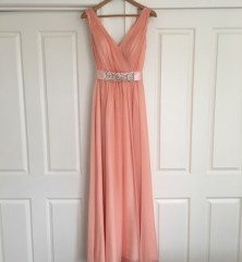 Floss pink Jadore Bridesmaid Dress