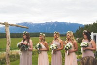 Blush Bridesmaid Dress NEW