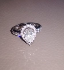 Engagement Ring, 1.23 cts, VS1