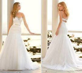 Ella Rose Wedding Dress, Size 10-12