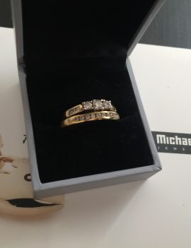 Michael Hill Engagement and Wedding Set
