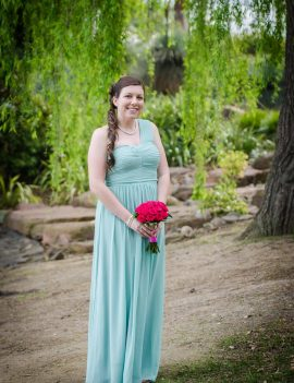 Review Bridesmaid Dress, Size 12