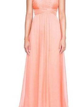 Chiffon multiway dress (dusty pink)