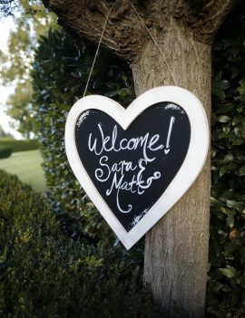4x Wedding Chalkboard Blackboard Signs – FREE Delivery Melb areas