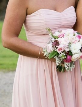 Review Bridesmaid Dress, Size 10
