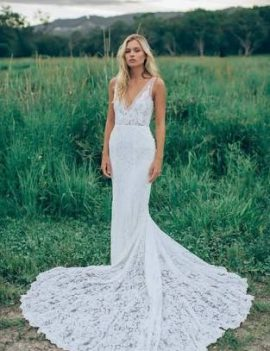 Wedding dress designed by Made with Love