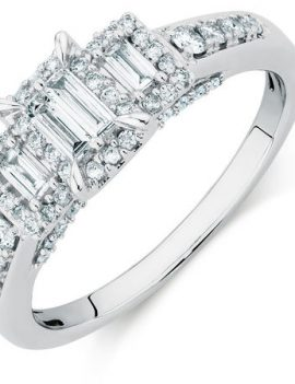 18K .25ct Wedder Engagement Ring