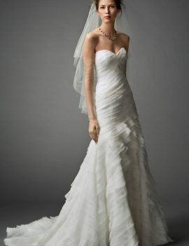 Watters Wedding Dress BNWT Linnea Wedding Dress Size 10 in Ivory