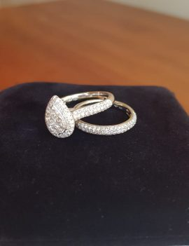 Engagement and Wedding Band Set