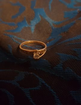 18ct gold ring set