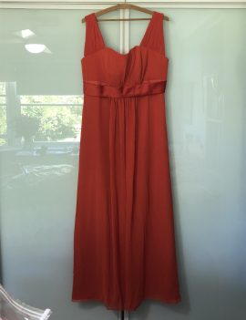 Burnt Orange Gown