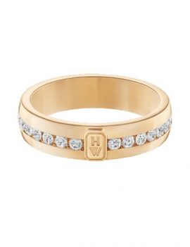 HW Logo by Harry Winston, Yellow Gold Diamond Ring