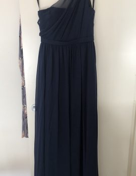 Fred Angelo navy maxi dress