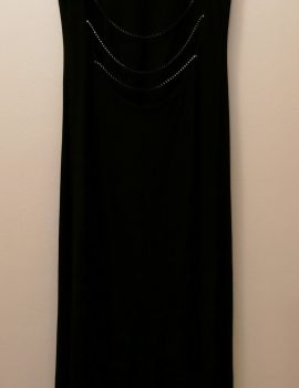 Susie Mooratoff Black Bridesmaid Dress