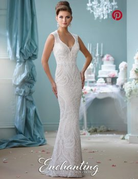 Mon Cheri Wedding Dress BN